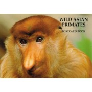 Wild Asian Primates Postcard by Art Wolfe