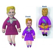 Fat Cat Political Toys - Hillary Clinton Pupazzo