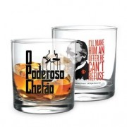 Copo de Whisky Poderoso Chefao Don Corleone