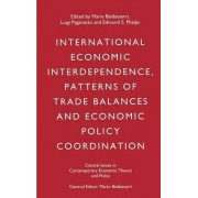 International Economic Interdependence, Patterns of Trade Balances and Economic Policy Coordination by Mario Baldassarri