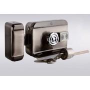 Serrure électrique motorisée 12v avec lecteur de badge intégré btc4