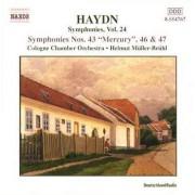 J. Haydn - Symphonies No.43,67,47 (0636943476727) (1 CD)