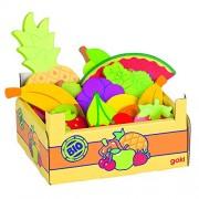 Goki - 2040773 - Jeu D'imitation - Commerçant - Fruit Dans Une Caisse De Fruits