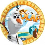 Set 8 farfurii Olaf Summer 23 cm