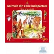 Animale din zone indepartate - Carte cu ferestre mici