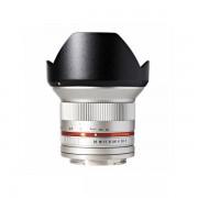 Obiectiv Samyang 12mm f/2.0 NCS CS Silver montura Micro Four Thirds