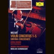 Gidon Kremer - Mozart: Violin Concertos 1-5 & Sinfonia Concertante (0044007341575) (2 DVD)