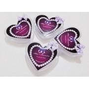 Baleiro coração 7x1,5 cm personalizado