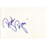 Brooke Burns Autographed Index Card