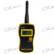 Wireless Radio Frequency and Transmission Power Scanner with LCD Display (1MHz~2.4GHz/0.1W~50W)
