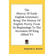 The History of Early English Literature by Stopford A Brooke