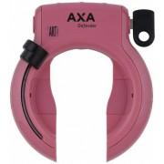 AXA ringslot Defender Art** in blisterverpakking roze