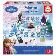 Frozen - Aprendo... A Fazer Palavras, juego educativo en portugués (Educa Borrás 16377)