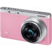 Aparat Foto Mirrorless Samsung NX Mini kit 9mm Roz