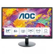 """AOC M2470swh 23.6"""" Full Hd Mva Nero Monitor Piatto Per Pc Led Display 4038986144995 M2470swh 10_0g30205"""