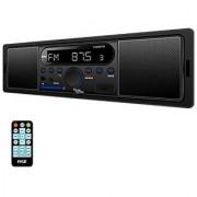 Pyle PLMR8BTBK Bluetooth In-Dash Stereo Radio Headunit Receiver MP3/USB/SD Aux Input