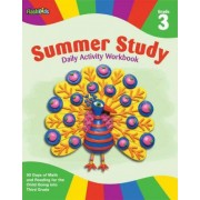 Summer study daily activity workbook: Grade 3 by Flash Kids Editors