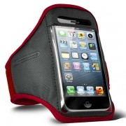 iPhone 5 5S 5C Sports Armband Case Cover - Red