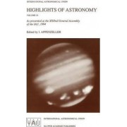 Highlights of Astronomy: Volume 10 by Immo Appenzeller