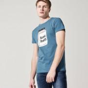 House - T-shirt sonic youth - Niebieski