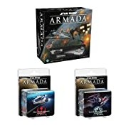 Star Wars Armada with Rebel Fighter and Imperial Fighter Squadrons Star Wars Armada Bundle
