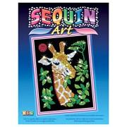 Sequin Art - Loisirs Créatifs - Girafe