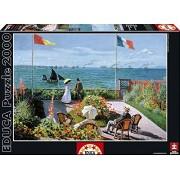 Puzzles Educa - Terraza de Sainte-Adresse, puzzle de 2000 piezas (15537)