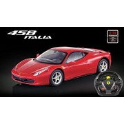 Licensed 1/14th Scale Ferrari 458 Italia Ready to Run Die Cast Radio Control Car with Simulated Stee