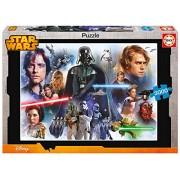 Puzzles Educa - Puzzle con diseño Star Wars Panorama, 3000 piezas (16321)