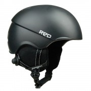 Red kask Paragon Black M
