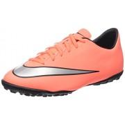 Nike Jr Mercurial Victory V Tf Scarpe da calcio allenamento, Unisex bambini, Multicolore (Urbn Lilac/Blk-Brght Mng-White), 36