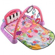 Fisher-Price Kick and Play Piano Gym Pink