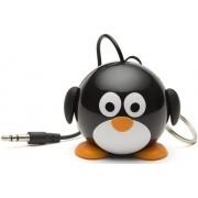 Boxa Portabila KitSound MyDoodle Characters Penguin, Jack 3.5mm (Negru)