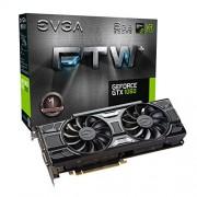EVGA 4004 06 G-P4 6368 KR GeForce GTX 1060 - FTW + Gaming 6 GB GDDR5 VR Ready scheda video Nero