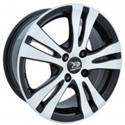 Janta Aliaj Md518 - Dimensiuni 6.5X15 Pcd 4X100 Et 35, Negru Cromat