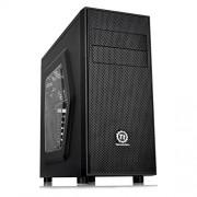 Thermaltake - Torre per PC fisso Versa H24 con USB 3, finestra laterale e ventola da 12 cm, colore: nero