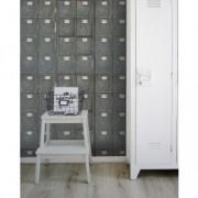 Set 3 role Tapet Imprimat Digital Locker Room