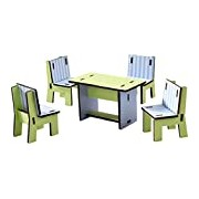 HABA 300509 Little Friends Dollhouse Dining Room Furniture