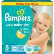 Scutece Pampers Active Baby 5 Junior Mega Box Pack 126 buc
