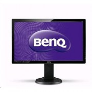 Monitor BenQ TN LCD LED GL2450HT 24'' 16:9, 1920x1080, 2ms, 12mil:1, 250cd, VGA/DVI/HDMI, repro, Pivot,výšk.nastav, flicker-free
