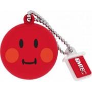 USB Flash Drive Emtec Smiley World Shame USB 2.0 8GB Rosu