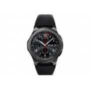 Samsung Gear S3 Frontier - 46 Mm - Black - Smart Watch With Band - Sil