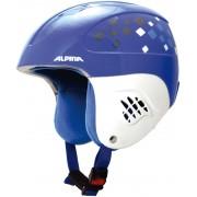 Alpina Carat Kask snowboard Dzieci niebieski/biały Kaski narciarskie