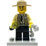 LEGO City Loose Swamp Police Sheriff Minifigure [Loose]