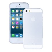 Husa de protectie Slim Redneck TPU Flexi pentru Apple iPhone SE/5s/5, Clear