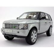 Land Rover Range Rover (L322) 1/24 Scale Diecast Metal Model - SILVER