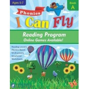 I Can Read - Book A, Orton-Gillingham Based Reading Lessons for Young Students Who Struggle with Reading and May Have Dyslexia by Cheryl Orlassino