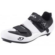 Giro Apeckx II schoenen wit/zwart 2017 Racefiets klikschoenen