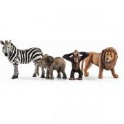 Set schleich animale salbatice set de incepatori sl42387