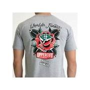 Uppercut Deluxe Men's World's Finest T-Shirt - Grey - XL - Grå